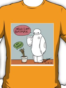 Hello I'am Baymax And I'am Groot T-Shirt