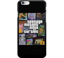 TMNT GTA iPhone Case/Skin