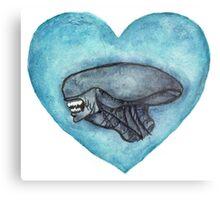 Xenomorph Love Metal Print
