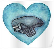 Xenomorph Love Poster