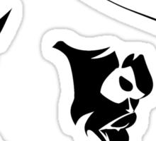 Biggie Smalls BLK on WHT Sticker