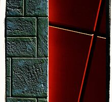 Fancy Brick Wall 2 by TeAnne