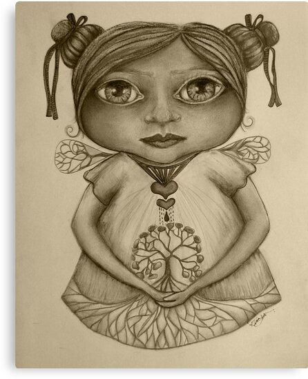Tree of Life drawing by © Karin Taylor