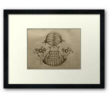 The Dream Maker drawing Framed Print
