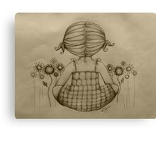 The Dream Maker drawing Canvas Print
