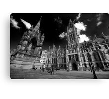 Manchester Town Hall Canvas Print