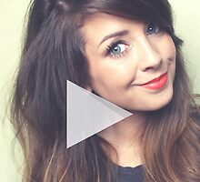 Zoella - Zoe Sugg - YouTube by 4ogo Design