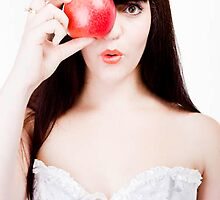 Bangs & Fruit: Apples by SianneKeely