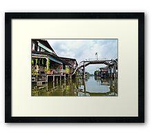 Outskirt of Bangkok Framed Print