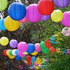 Rainbow Lanterns by snefne