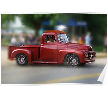 Antique truck # 2 Poster