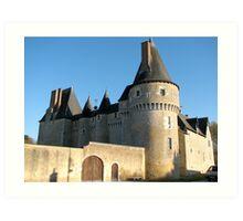 Chateau, France Art Print