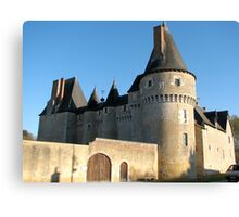 Chateau, France Canvas Print