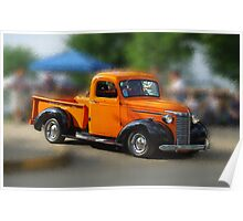 Antique truck # 3 Poster