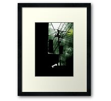 Dangerous Skies Framed Print