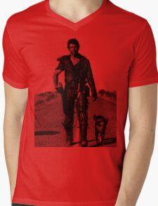 The Road Warrior Mens V-Neck T-Shirt
