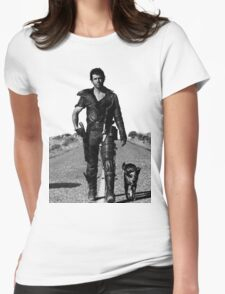 The Road Warrior Womens Fitted T-Shirt
