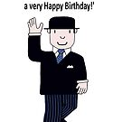 Mr Benn 'Birthday' by Grainwavez