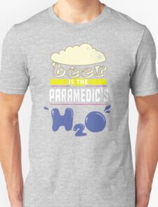 """Beer is the Paramedic's H20"" Collection #43164 T-Shirt"