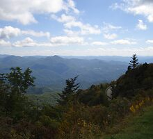 The Road around Waterrock Knob by JRobinWhitley