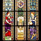 Stainglass Window At Lawang Sewu by Charuhas  Images