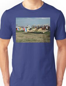 Jenny and Nieuport @ Avalon Airshow 2005 Unisex T-Shirt