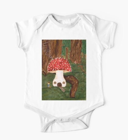 Gnome Home One Piece - Short Sleeve