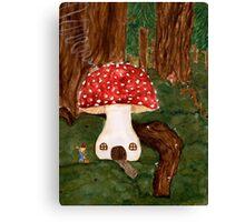 Gnome Home Canvas Print