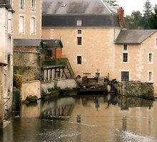 Mill on the Charente by Pamela Jayne Smith