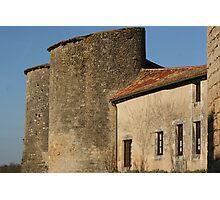 Château-Larcher Photographic Print