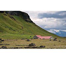 Icelandic Countryside Photographic Print