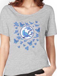 Bird, Butterflies, and Blossoms Women's Relaxed Fit T-Shirt