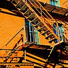 Fire escape by Susana Weber