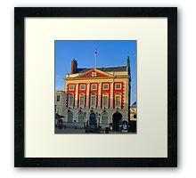 Mansion House - York Framed Print