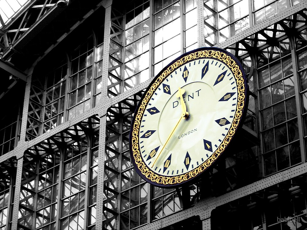 Clock by Claire Dimond