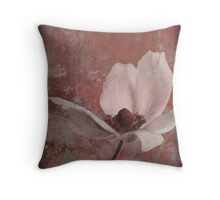 Oriental Flower Throw Pillow