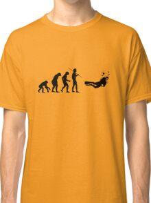 Evolution to Scuba Diver Classic T-Shirt