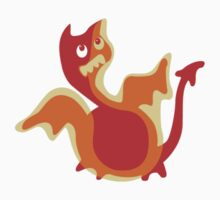 Cute Little Dragon, Cute Ugly T-Shirt or Sticker Kids Clothes