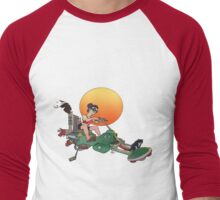 Cat Mobile Men's Baseball ¾ T-Shirt