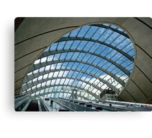 Canary Wharf Underground Station, London, United Kingdom Canvas Print