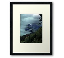 Window in the Clouds Framed Print