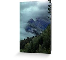 Window in the Clouds Greeting Card
