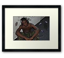 Outdated Framed Print