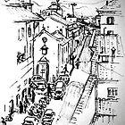 Florence Street Scene by Emma Jean Chu