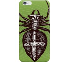 Giant brown spider iPhone Case/Skin