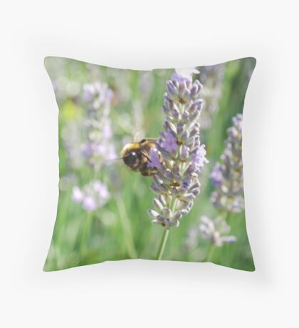 Busy Bees. Throw Pillow