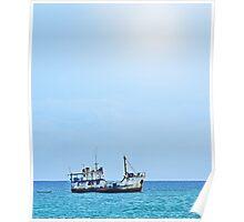 RUST FLOATS (Guadacanal, Solomon Islands) Poster