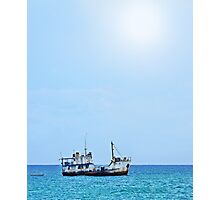 RUST FLOATS (Guadacanal, Solomon Islands) Photographic Print