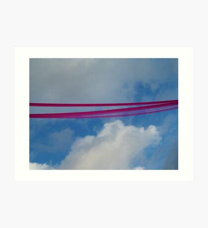 notting hill ribbon Art Print
