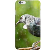 It's Raining White Fluff - Tui NZ iPhone Case/Skin